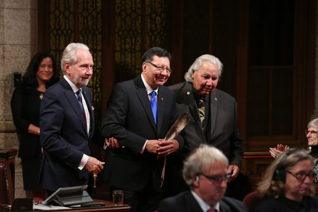 Senator Dan Christmas Sworn In